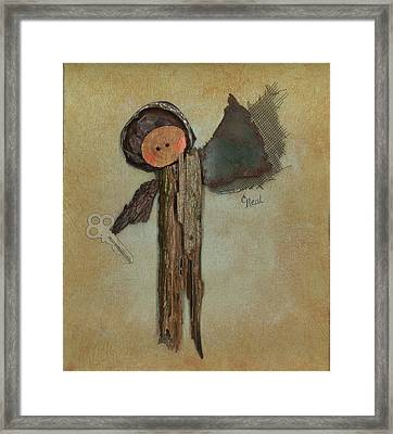 Angel Of The Ages Framed Print