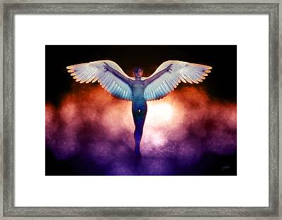 Angel Of The Apocalypse Framed Print