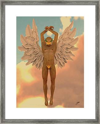 Angel Of The Crazy Life Framed Print