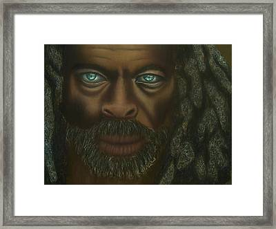 Angel Of The Lost Framed Print by D Rogale
