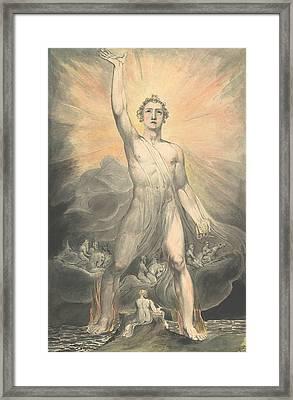 Angel Of The Revelation Framed Print
