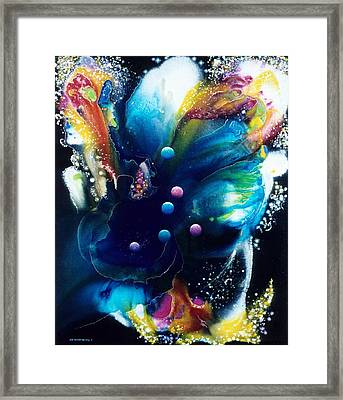 Angel Of The Six Stars Framed Print by Lee Pantas