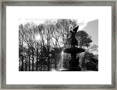 Angel Of The Waters Framed Print