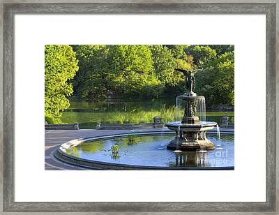 Angel Of The Waters Framed Print by Brian Jannsen