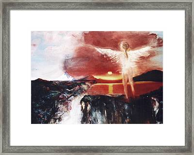 Angel Of The Yucatan Framed Print by Michela Akers