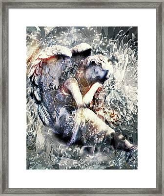 Angel Of Your Dreams Framed Print by Georgiana Romanovna