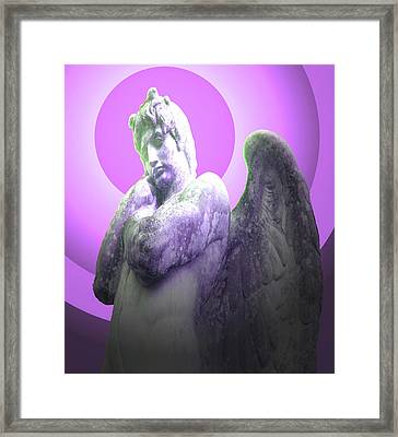 Angel Of Youth No. 02 Framed Print