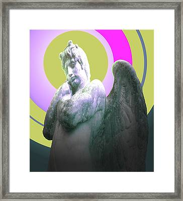 Angel Of Youth No. 03 Framed Print by Ramon Labusch