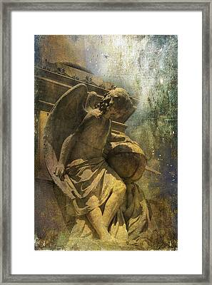 Angel On Watch Framed Print