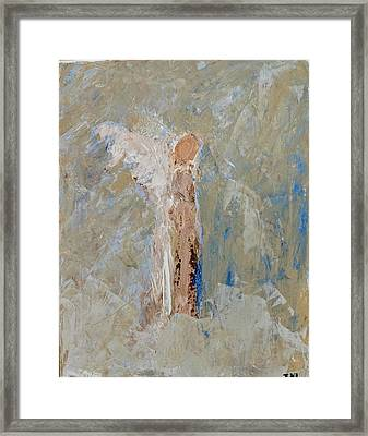 Angel Out Of Nowhere Framed Print