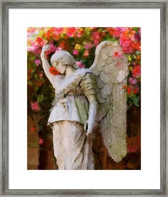 Angel Framed Print by Paul Bartoszek