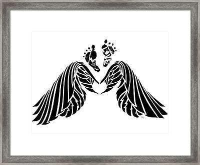 Angel Prints Framed Print by Terri Meredith