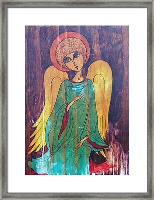 Angel Framed Print by Rae Chichilnitsky