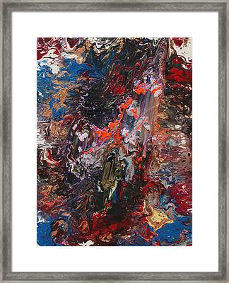 Angel Rising Framed Print