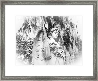 Angel Framed Print by Sabrina  Long