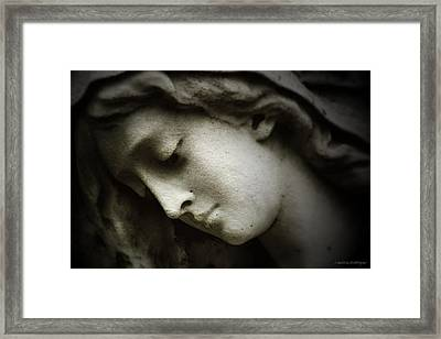 Angel Sorrow Framed Print