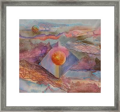 Angel Sphere Framed Print