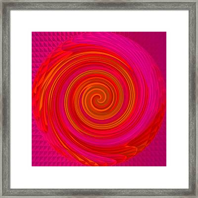 Angel-spiral Framed Print by Ramon Labusch