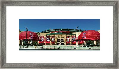 Angel Stadium Framed Print