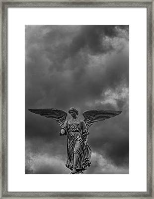 Angel Statue Bethesda Fountain Central Park 2 Framed Print