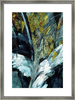 Angel Framed Print by Sue Reed