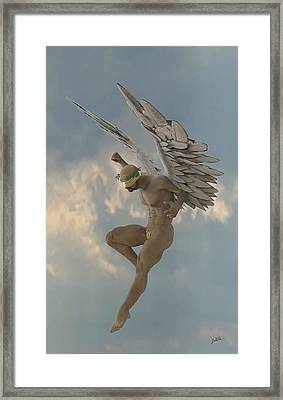 Angel That Watches Framed Print
