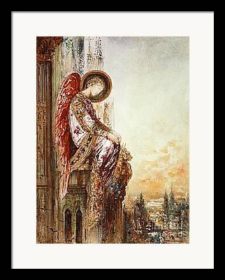 Angelic. Symbolism Framed Prints