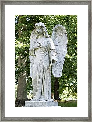 Angel Framed Print by William Morris