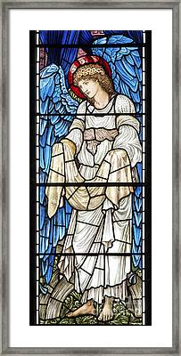 Angel Window Framed Print by Tim Gainey