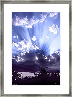 Angel Wings Framed Print by Diane C Nicholson