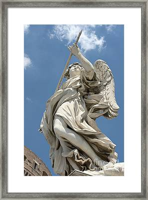 Angel With The Lance II Framed Print