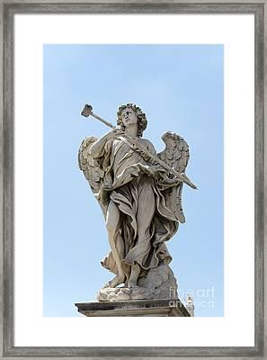 Angel With The Sponge Framed Print by Fabrizio Ruggeri