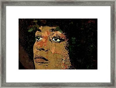 Angela Davis-2a Framed Print