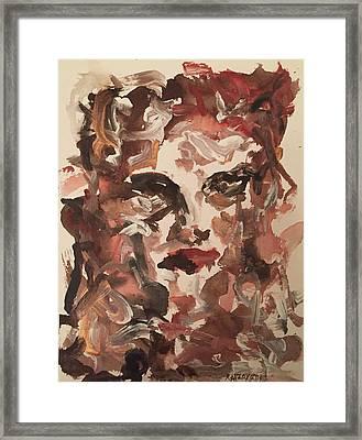 Angela II Framed Print