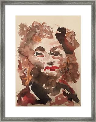 Angela IIi Framed Print