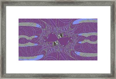 Angelfish Framed Print by Thomas Smith