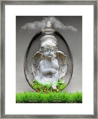 Angelic Art Framed Print