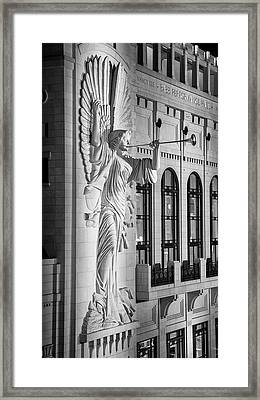 Angelic Blast - Bass Hall Framed Print by Stephen Stookey
