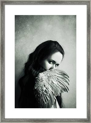 Angelic Framed Print by Art of Invi
