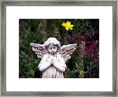 Angelic Framed Print by Karen Scovill
