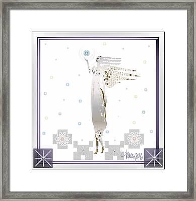 Angelic Messenger Framed Print