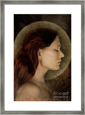 Angelic Portrait Framed Print