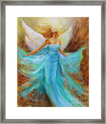 Angelic Rising Framed Print by Jennifer Beaudet