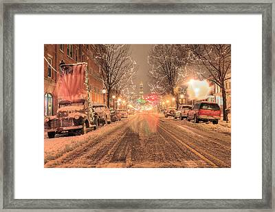 Angelic Snow Framed Print by JC Findley
