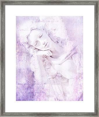 Angelic Framed Print by Theresa Tahara
