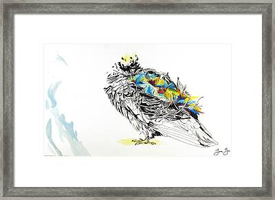 Angelica Framed Print by Jenie Gao