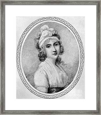 Angelica Schuyler Church Framed Print by Granger