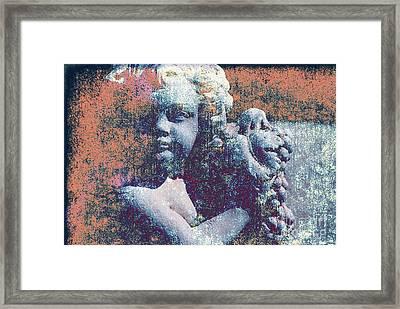 Angelina Framed Print by Susanne Van Hulst