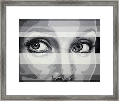 Angelina's Eyes Framed Print