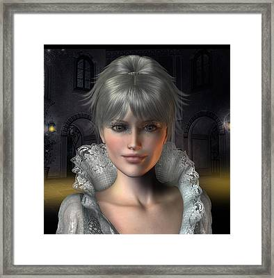 Angelique Framed Print